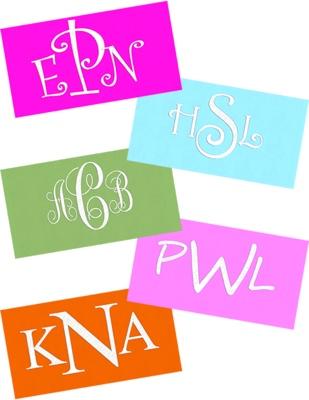 monograms for mailchimp