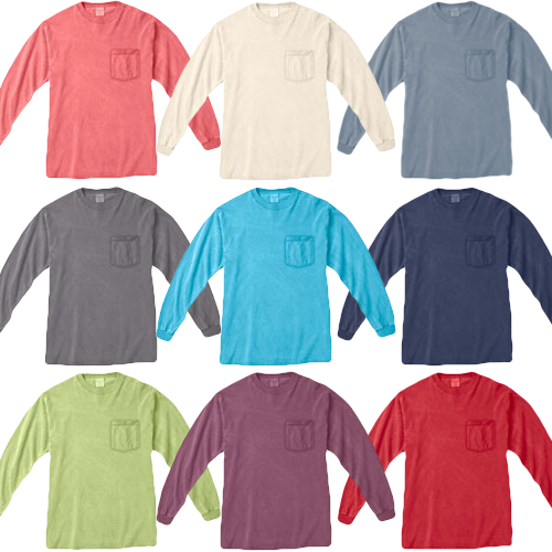 Comfort Colors Shirts Mix