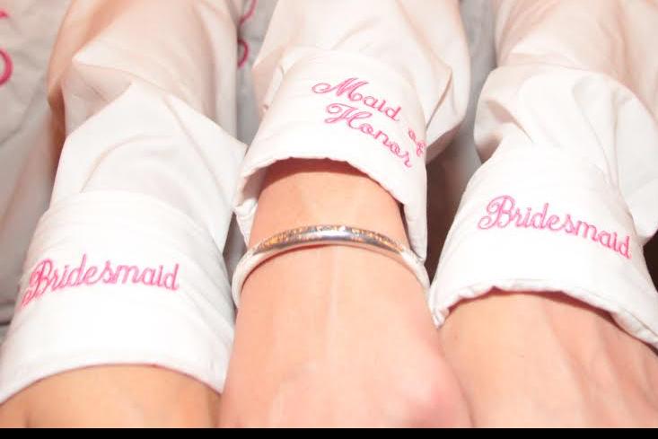 Bridesmaids Cuffs