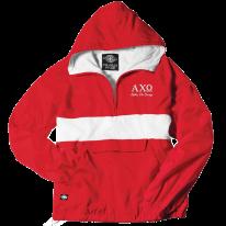 Alpha Chi Omega-Charles River Embroidered Jacket - FindGreek