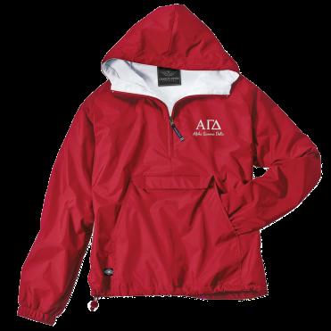 Alpha Gamma Delta-Charles River Apparel Jacket- Find Greek