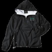 Zeta Tau Alpha-Charles River Apparel Embroidered Jacket-FindGreek