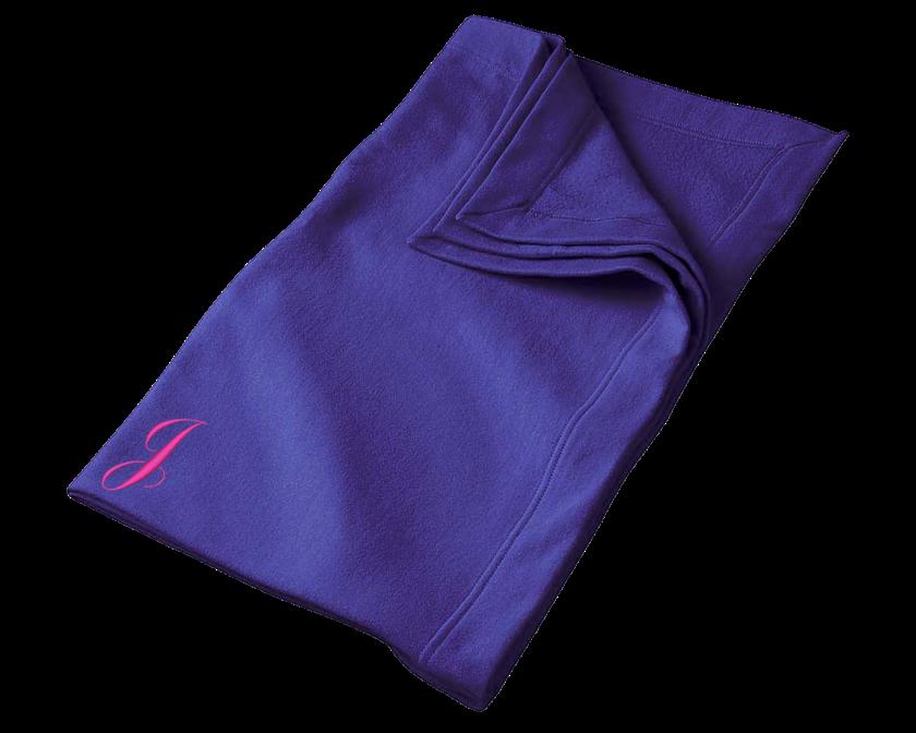 Blanket Embroidered Letter